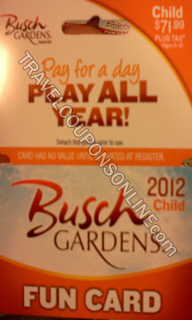 busch gardens tampa coupons 2012 promotions travel coupons online