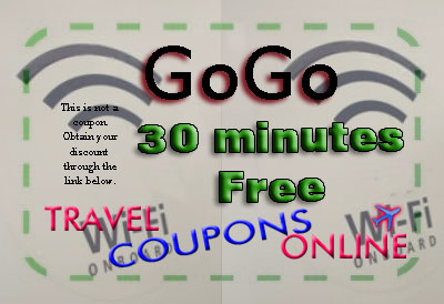 Gogo Inflight Wifi Internet promo code coupon