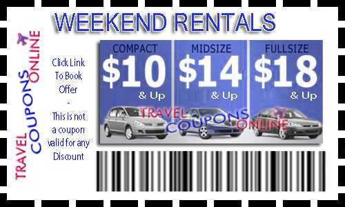 Discount coupons for alamo car rental