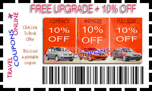 Car rentals discounts and coupons