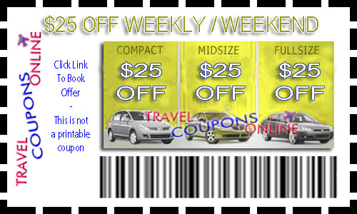 Discount coupons for car rentals hertz