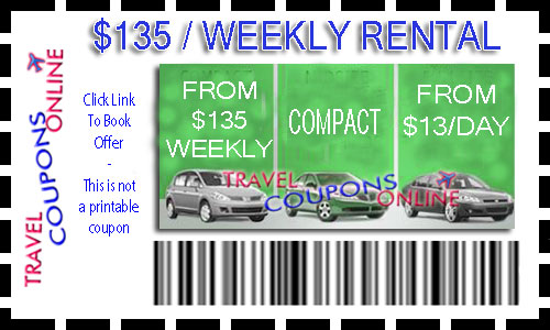 Airport van rental coupon code
