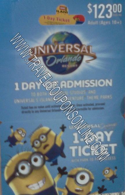 Universal Orlando park hopper pass