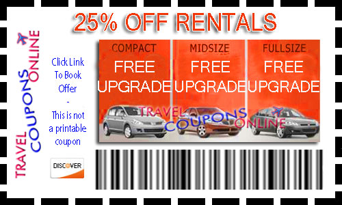 Cheap car rental coupons