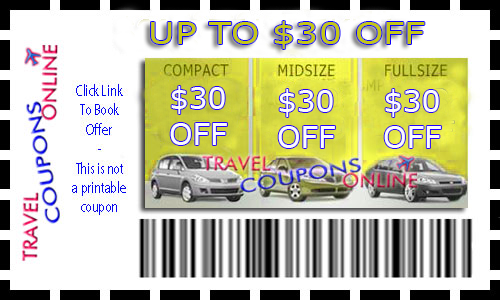 Discount coupons for advantage car rental