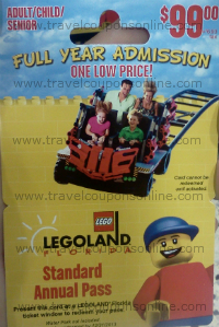 Legoland 2013 Annual Pass