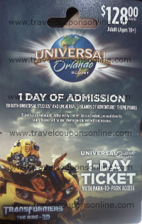 available Universal Orlando coupons on rexaxafonoha.tk Top Promo Code: Get $ Off Code. Are you looking for the best days to vacation? Universal Orlando offers savings throughout the year at on-site hotels so that you can choose the perfect fit for your travel plans. Go and grab the Hot Deals on vacation packages and get ready to.