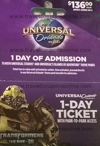 Best of Orlando Coupons & Promo Codes. Promo Code Find discounts on Universal Studios tickets at Best of Orlando and save on a visit to the Wizarding World of Harry Potter! You can explore Diagon Alley and Hogsmeade, dine at the Leaky Cauldron, buy a wand from Ollivander, and live out all your magical dreams! You don't even need a Best /5(10).