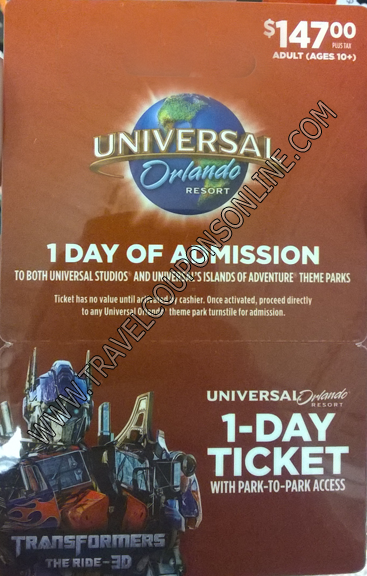 Please Click Here For A Free Universal Studios Ticket